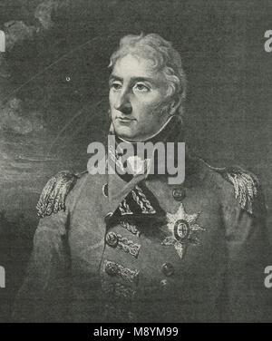 Lieutenant-General Sir John Moore, 1761–1809 - Stock Photo