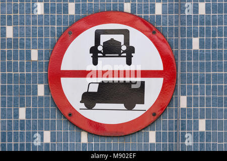 sign ban on driving for vehicle diesel ban on driving schild stock photo 156713609 alamy. Black Bedroom Furniture Sets. Home Design Ideas