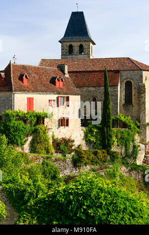 Loubressac Quercy Lot  Occitaine France - Stock Photo