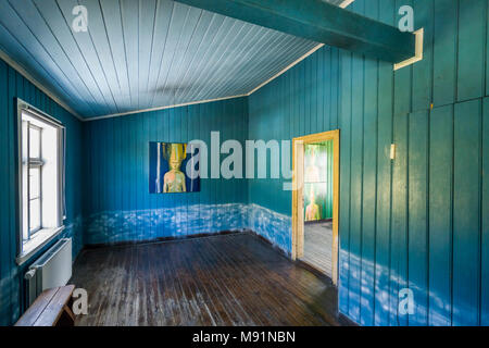 Folk Museum, Olafsdalur, West Fjords, Iceland - Stock Photo