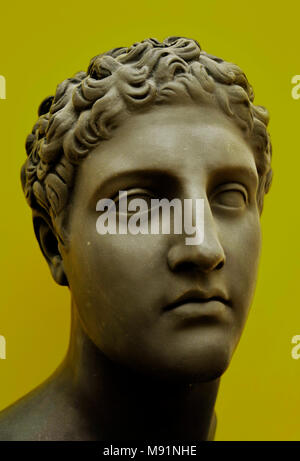 Greek-Roman bust in neoclassical style revisited in a modern way. - Stock Photo