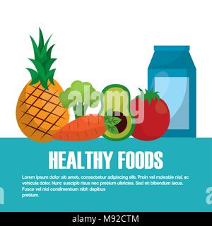 healthy foods lifestyle - Stock Photo