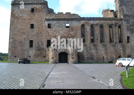 'Linlithgow' 'Linlithgow palace' 'Linlithgow loch' 'Scotland' 'mary queen of scots residence' . - Stock Photo