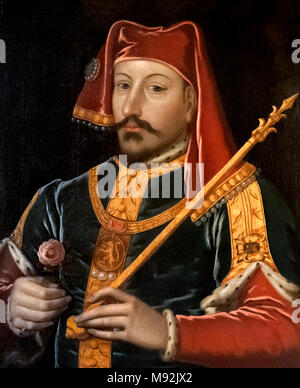 King Henry IV of England (1367-1413), who reigned from 1399 to 1413 - Stock Photo