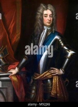 John Churchill, 1st Duke of Marlborough (1650–1722). - Stock Photo