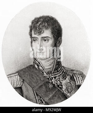 Lucien Bonaparte, Prince Français, 1st Prince of Canino and Musignano,  1775 – 1840.  French statesman.  From Hutchinson's History of the Nations, published 1915 - Stock Photo