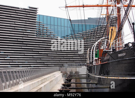 V&A Dundee, due to open on 15th September 2018, - Stock Photo