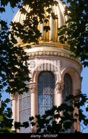 Russisch-Orthodoxe Kirche, Wiesbaden, Hessen, Deutschland - Stock Photo