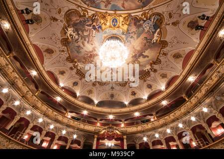 Hessisches Staatstheater, Wiesbaden, Hessen, Deutschland - Stock Photo