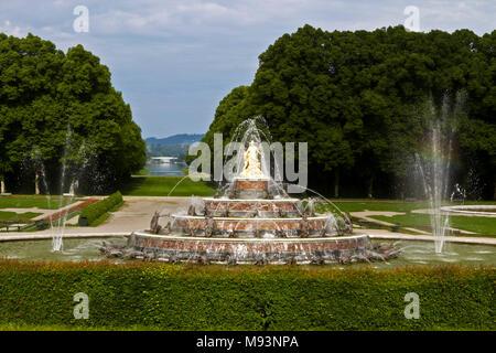 Allemagne, Baviere, Munich, chateau de Herrenchiemsee *** Herrenchiemsee castle, Munich, Bavaria, Germany