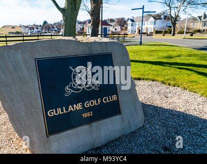 Gullane Golf Club  in East Lothian, Scotland, United Kingdom - Stock Photo