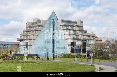 Grand Harbour Hotel, a luxury 4 star hotel in Southampton, Hampshire, England, UK. - Stock Photo