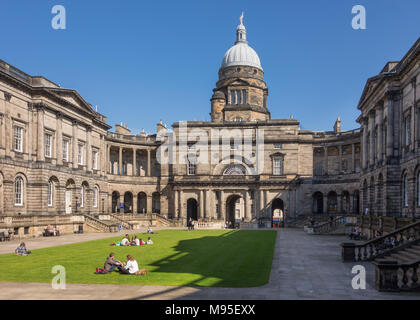 Edinburgh University Old College - Stock Photo