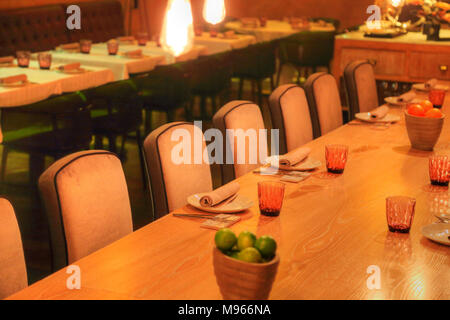 MADRID, SPAIN-OCTOBER 6, 2017: Famous Spanish restaurant on the rooftop of Arena mall at Plaza De Espana - Stock Photo