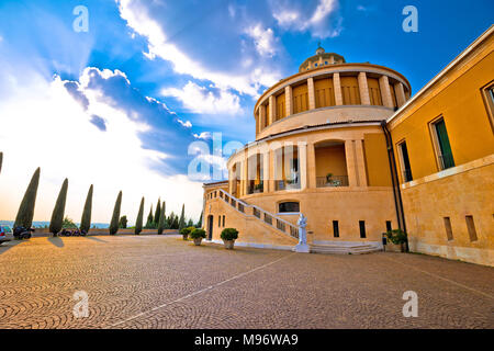 Madonna di Lourdes sanctuary in Verona view, Veneto region of Italy - Stock Photo