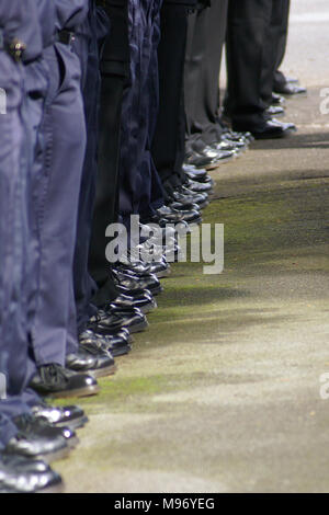fire crew outside North Kensington fire station Ladbroke Grove west London Grenfell fire Heroes - Stock Photo
