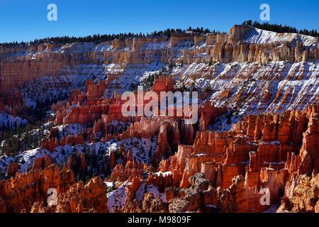 Bryce Canyon National Park,Utah,America,USA - Stock Photo