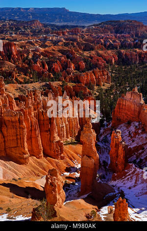 Bryce Canyon National Park,Utah,America,USA - Stock Photo