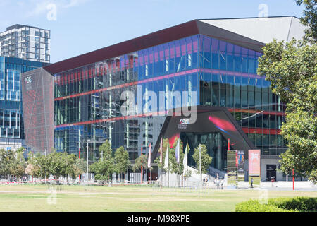 International Convention Centre Sydney Theatre (ICC Sydney), Darling Drive, Darling Harbour, Sydney, New South Wales, Australia - Stock Photo