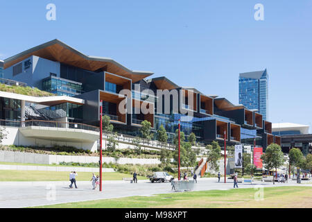 International Convention Centre Sydney (ICC Sydney), Darling Drive, Darling Harbour, Sydney, New South Wales, Australia - Stock Photo