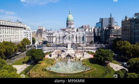 Congreso de la Nación Argentina, Buenos Aires, Argentina - Stock Photo