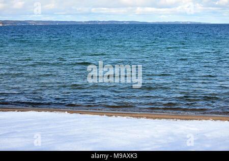 West Arm Grand Traverse Bay - Stock Photo