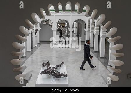 Modern Art Center of Tetouan, Tetouan. Morocco - Stock Photo