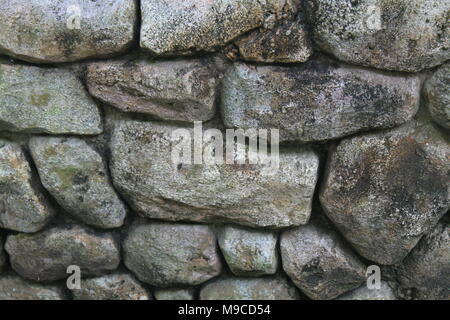 Stone wall for background or rocks rough texture - Stock Photo