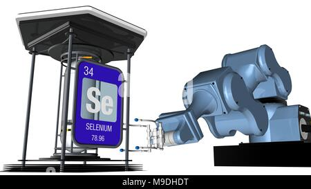 Symbol For The Chemical Element Selenium Stock Photo 59914531 Alamy