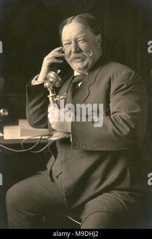 William Howard Taft, William Taft (1857 – 1930) 27th President of the United States (1909–1913) - Stock Photo