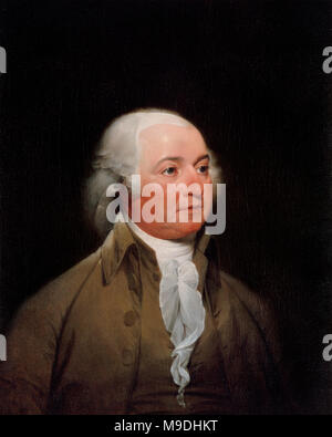 John Adams (1735 – 1826) American statesman and Founding Father who served as the first Vice President (1789–97) and second President of the United States (1797–1801) - Stock Photo