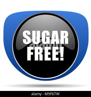 Sugar free web icon - Stock Photo