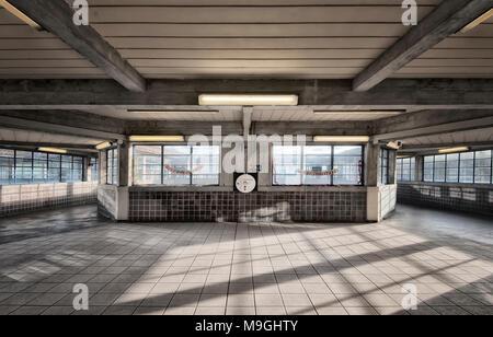 London Underground Tube Station: Acton Town - Stock Photo