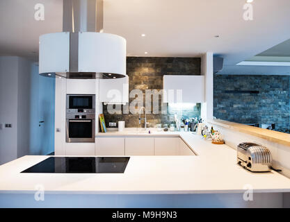 Kitchen Tablet Panel Set In Wall