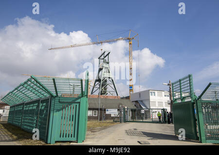 March 26, 2018 - Salzgitter, Lower-Saxony, Germany - The shaft plant I of the Konrad Mine Credit: Jannis Grosse/ZUMA Wire/Alamy Live News - Stock Photo