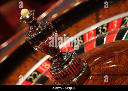 Static roulette in casino. - Stock Photo