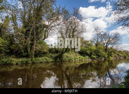 Chichester Ship Canal, Chichester, West Sussex, UK - Stock Photo