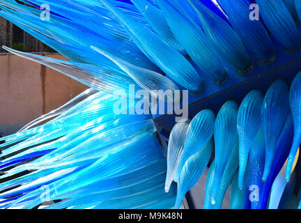 Scenes in and around the Venetian Lagoon Island of Murano, Historic centre of glass making in Venice, Italy - Stock Photo