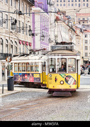1 March 2018: Lisbon, Portugal - - Stock Photo
