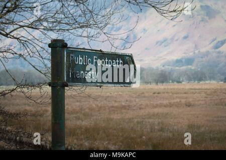 Lake District, England, United Kingdom - Stock Photo