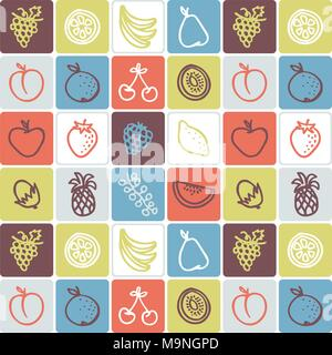 Hand Drawn Icons Set - Food 3 - Stock Photo