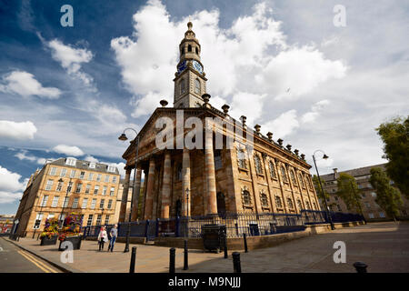 Glasgow St Andrews in the Square - Stock Photo