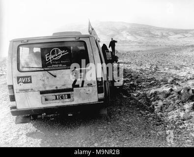 The Peace Convoy,, Bosnia - Stock Photo