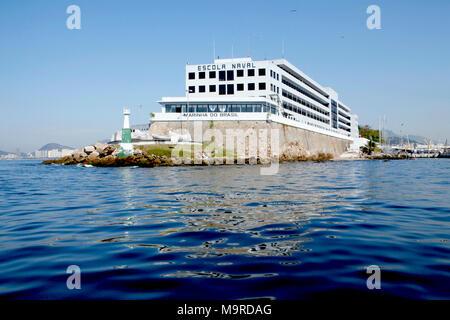 The Brazilian Naval Academy, Escola Naval is an Academy of