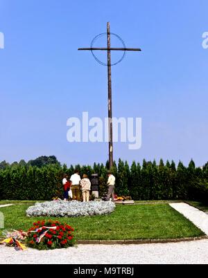 9023. Lidice Memorial, Central Bohemia, Czech Republic, Europe - Stock Photo