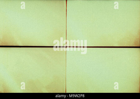 Blank grained film strip texture background with heavy grain, dust and lines - Stock Photo