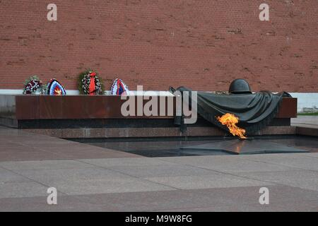 TOMB OF THE UNKNOWN SOLDIER, KREMLIN - Stock Photo