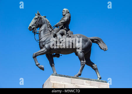 General José de San Martin, Plaza San Martin, Retiro, Buenos Aires, Argentina - Stock Photo