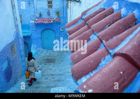 Chefchaouen, medina. Morocco - Stock Photo
