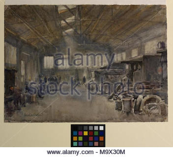 brcs and order of st john repair shop garage boulogne image an interior view of a garage in. Black Bedroom Furniture Sets. Home Design Ideas